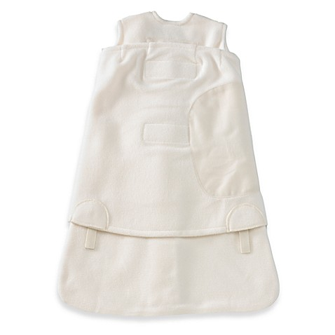 HALO® SleepSack® Newborn Swaddle Micro-fleece in Cream