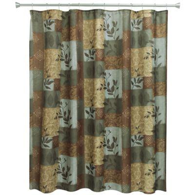 Bacova Aspen Leaves Shower Curtain