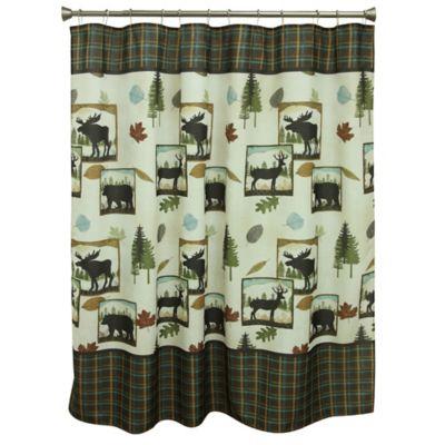 Bacova Woodlands Shower Curtain