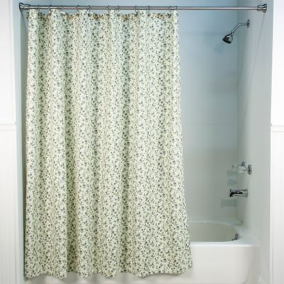 70 Floral Shower Curtain