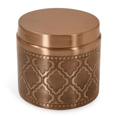 Byzantine Stainless Steel Covered Jar