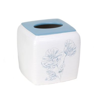 Garden Melody Ceramic Boutique Tissue Box Cover