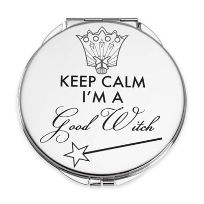 "Lenox® Wizard of Oz™ ""Keep Calm I'm a Good Witch"" Compact Mirror"