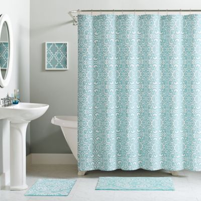 VCNY Essex 15-Piece Bath Bundle Set in Aqua