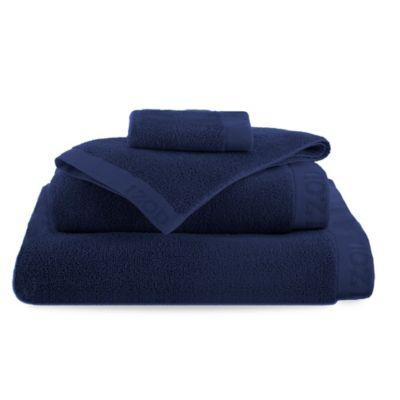 Izod® Classic Egyptian Cotton Bath Towel in Dress Blue