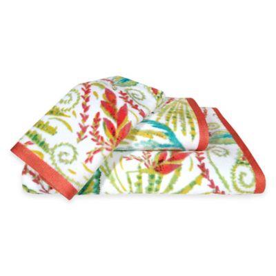 Tropical Green Towels