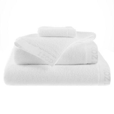 Izod® Classic Egyptian Cotton Bath Towel in White