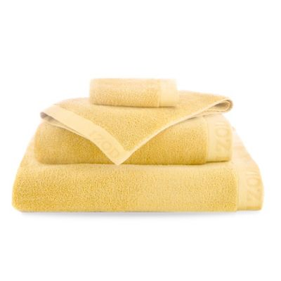 Yellow Egyptian Bath Towels