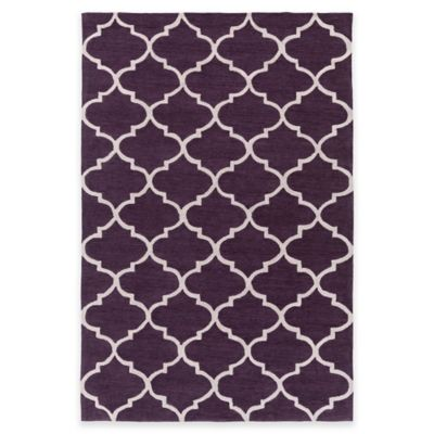Artistic Weavers Holden Finley 5-Foot x 7-Foot 6-Inch Area Rug in Purple/Ivory