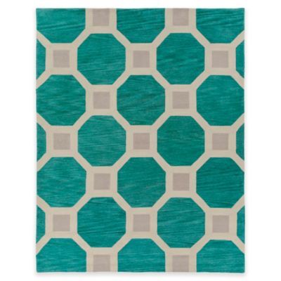 Artistic Weavers Holden Lennon 7-Foot 6-Inch x 9-Foot 6-Inch Area Rug in Teal
