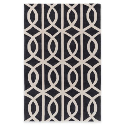 Blue/Charcoal Area Rugs