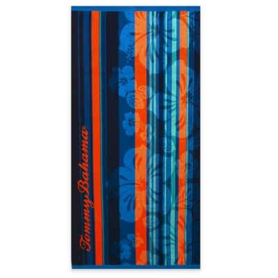 Tommy Bahama® Banana Bay Beach Towel in Navy