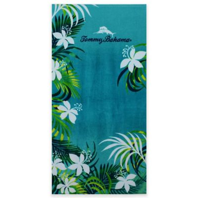 Tommy Bahama® Tropical Grove Beach Towel in Aqua