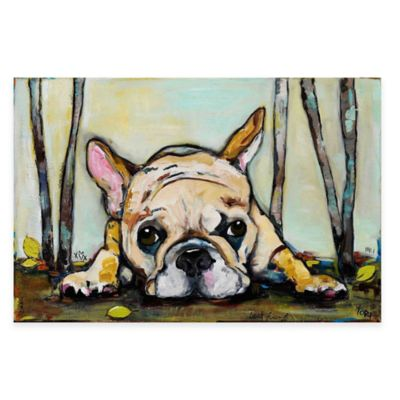 Marmont Hill Smushy 36-Inch x 24-Inch Canvas Wall Art