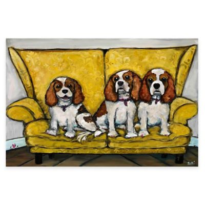 Marmont Hill The Girls 60-Inch x 40-Inch Canvas Wall Art