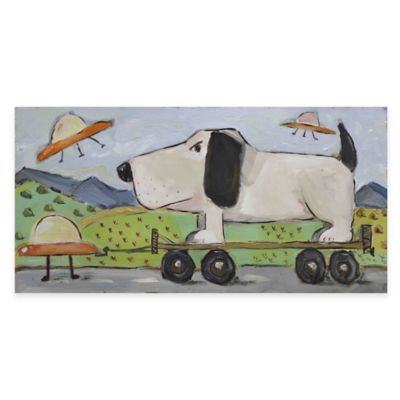 Marmont Hill The Abduction 60-Inch x 30-Inch Canvas Wall Art