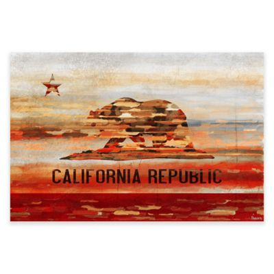 Marmont Hill Cali 24-Inch x 16-Inch Canvas Wall Art