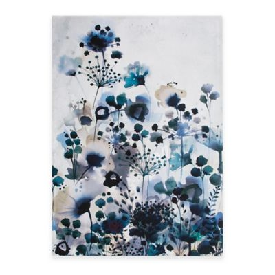 Graham & Brown Moody Blue Watercolor Canvas Wall Art