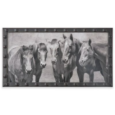 Uttermost Meeting of the Minds Horse Print Wall Art