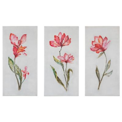 Uttermost Springtime Promise Floral Wall Art (Set of 3)