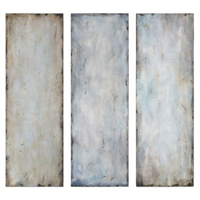 Uttermost Textured Trio Abstract Wall Art (Set of 3)