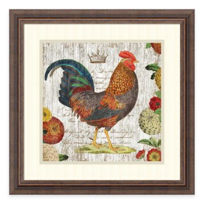Suzanne Nicoll Rooster I Framed Wall Art