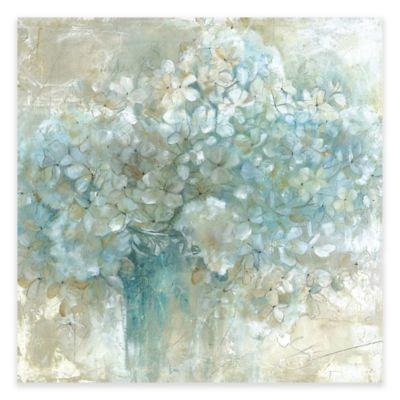 Hydrangeas Canvas Wall Art