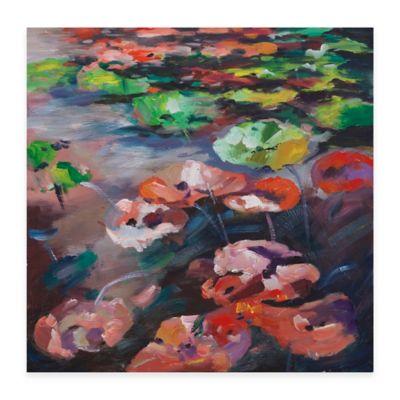 Bassett Mirror Company Lily Pads Canvas Wall Art