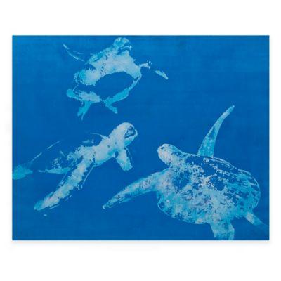 Bassett Mirror Company Sea Turtles Canvas Wall Art