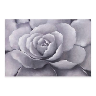Bassett Mirror Company Lilac Rose Canvas Wall Art