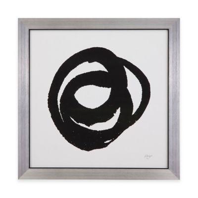 Bassett Mirror Company Kinetic I Framed Wall Art