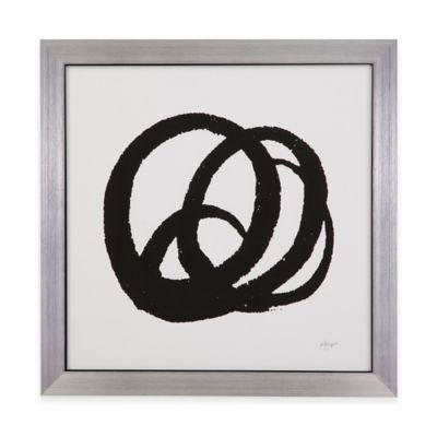 Bassett Mirror Company Kinetic III Framed Wall Art