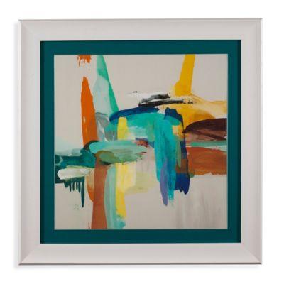 Bassett Mirror Company Synergy 2 Framed Canvas Wall Art