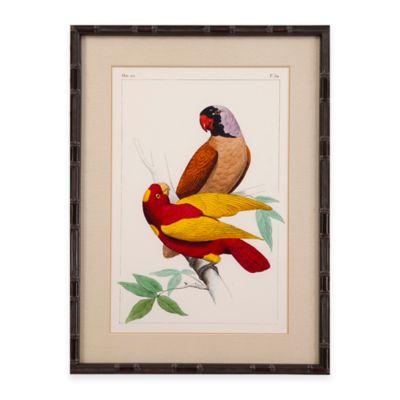Bassett Mirror Company Lemaire Parrots II Framed Wall Art