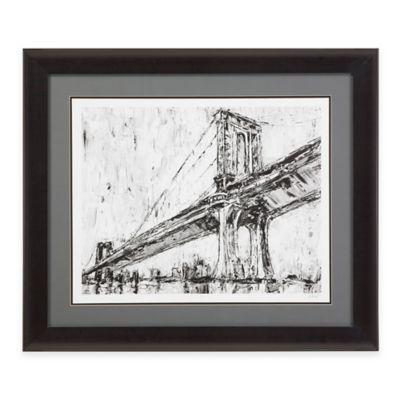 Bassett Mirror Company Iconic Suspension Bridge I Framed Print Wall Art
