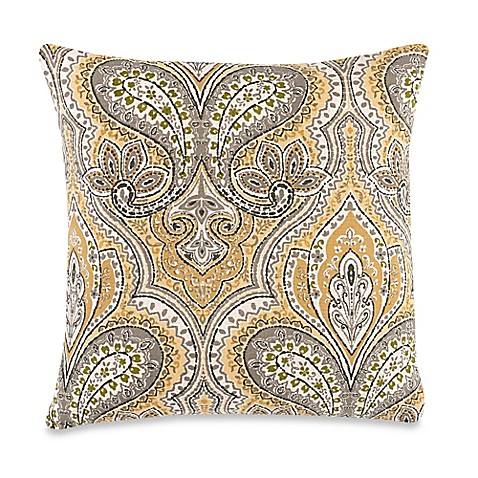 Decorative Pillows Make Your Own : Buy Make-Your-Own-Pillow Edsel Throw Pillow Cover in Blue from Bed Bath & Beyond