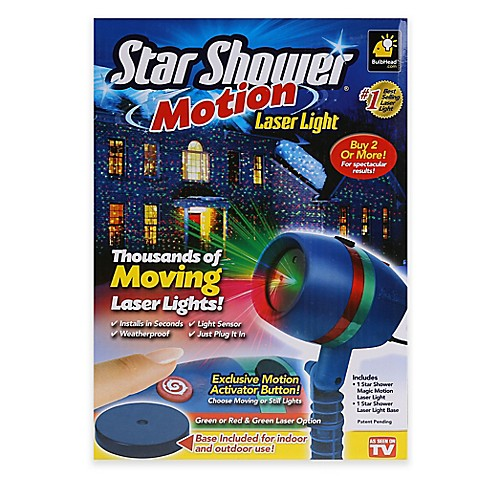 Star Showers 174 Laser Light With Motion Www