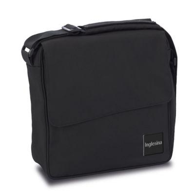 Inglesina Quad Diaper Bag in Total Black