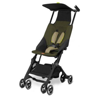 GB Pockit Stroller in Lizard Khaki