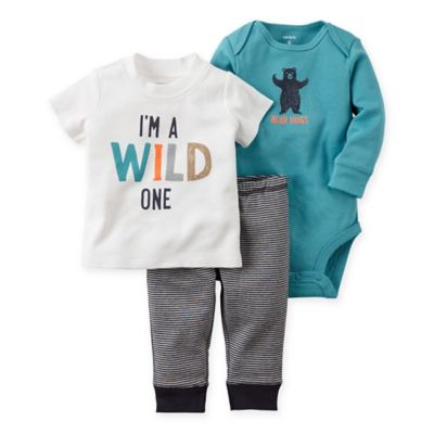 Turquoise Pant and Bodysuit Set