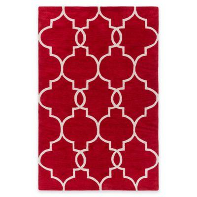 Artistic Weavers Holden Mattie 5-Foot x 7-Foot 6-Inch Area Rug in Red/Ivory