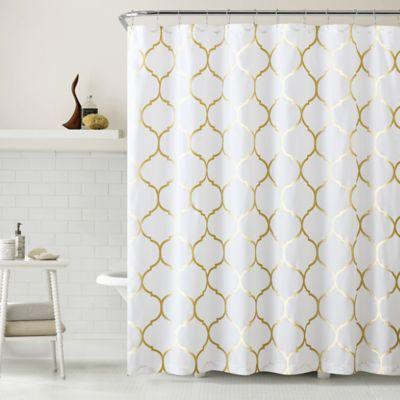 Metallic Bath Shower Curtains
