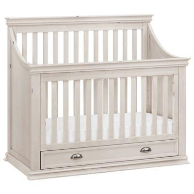 Franklin & Ben Mason 4-in-1 Convertible Crib in Distressed White