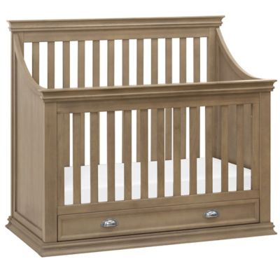 Franklin & Ben Mason 4-in-1 Convertible Crib in Greystone