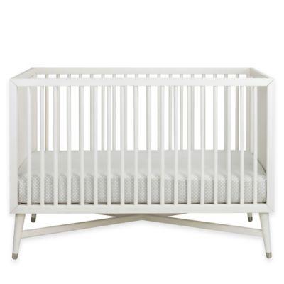 French White Convertible Crib