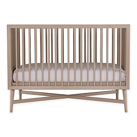 buy dwellstudio mid century 3 in 1 crib in fog grey from