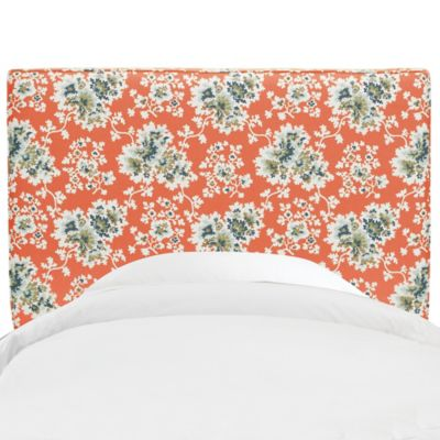 Skyline Furniture Aubrey Full Headboard in Cecilia Coral