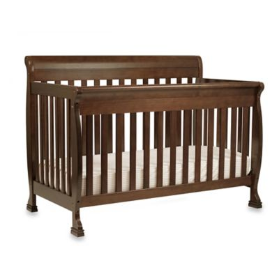 DaVinci Kalani 4-In-1 Convertible Crib with Toddler Bed Kit in Espresso
