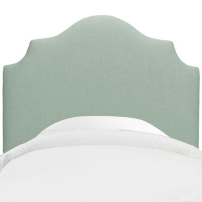 Skyline Furniture Nancy Twin Headboard in Swedish Blue