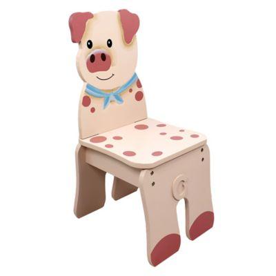 Teamson Fantasy Fields Happy Farm Kids Pig Chair